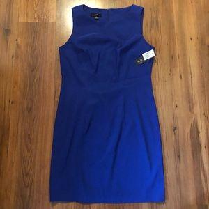 Blue Sleeveless Dress - Size 12 NWT